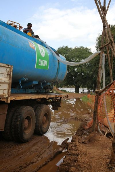 Oxfam is providing clean water to over 100,000 refugees in Gambella, Ethiopia