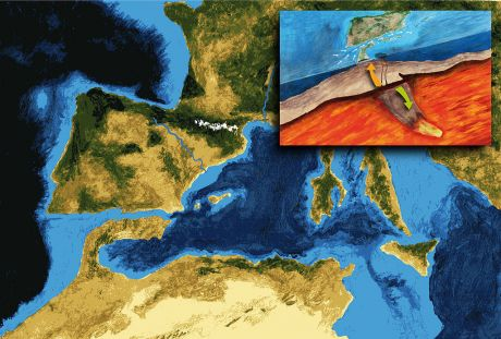 Messinian_salinity_crisis_6_mya_stage_-_last_canal