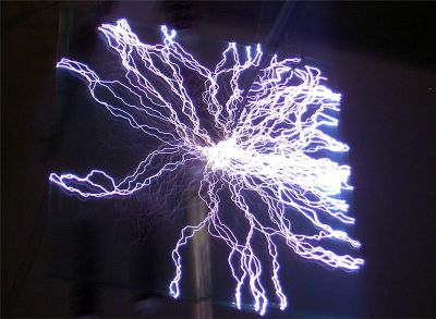Electric_discharge_around_a_glass_plate, fot. By Matthias Zepper [CC BY-SA 2.5
