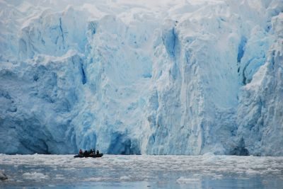 Studying the dynamics of glacial ice