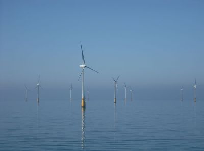 Barrow Offshore wind turbines